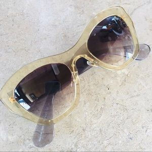 Miu Miu 50's mod sunglasses